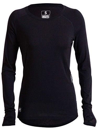 Mons Royale sous-vêtement de Ski en Laine mérinos Bella Coola T-Shirt Fonctionnel pour LS