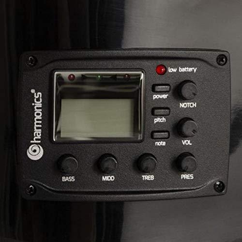 Violão Eletroacústico Nylon GE-20 Preto