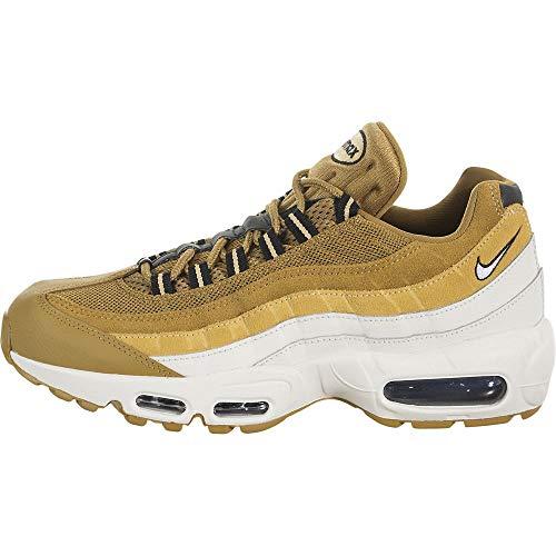 Nike Air Max 95 Essential zapatillas y calzado deportivo, (Wheat / Celestial Gold), 43.5 EU
