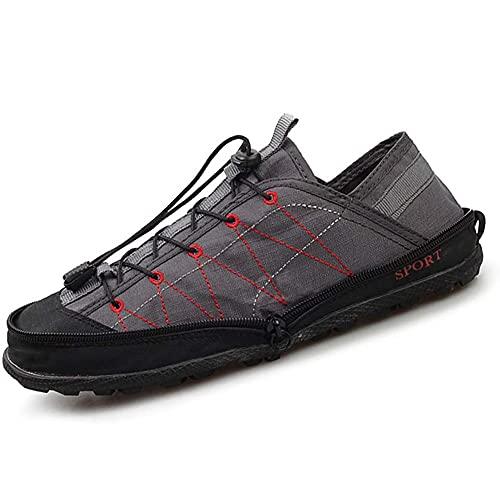 Interferencia de velocidad Zapatos de agua Hombres y Mujeres Portátiles Plegable Zapatos de Viaje Zapatos de Playa de Secado Rápido