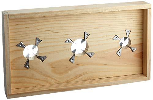 IMEX EL ZORRO 61002 Tabla para rajar Aceitunas, Tres tamaños, 32 x 17 cm