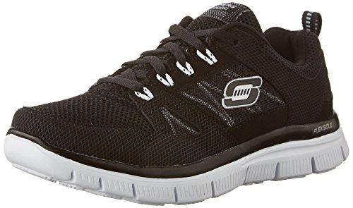 Skechers Flex Advantage, Zapatillas de Deporte para Niños, Negro (BKW), 30 EU