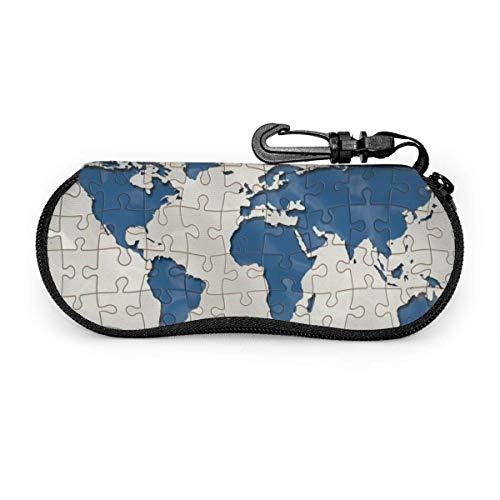 Arvolas Tropfen Regenwasser nass weiche Brille Fall für Frauen Männer Erde Puzzles auf der ganzen Welt
