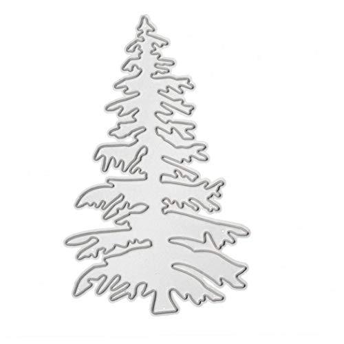 Lankater Weihnachten Schneideisen Weihnachtsbaum Schablone Vorlage Für DIY Scrapbooking Embossing Papier Karten Pop-up