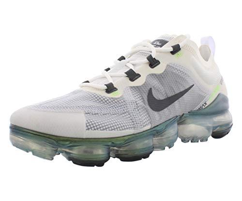 Nike Air Vapormax 2019 Prm, Scarpe da Atletica Leggera Uomo, Multicolore (White/Dark Grey/Platinum Tint/Lime Blast 100), 43 EU