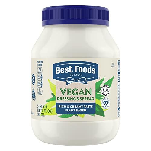 Best Foods Vegan Dressing and Sandwich Spread, 24 oz