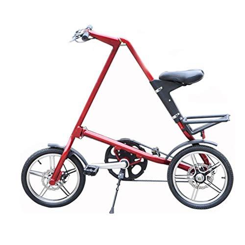 TWW Fahrrad Klappbares Fahrrad Aluminiumlegierung Einrad Fahrrad Aluminiumlegierung Auto Schnell Klappbares Fahrrad Sportfahrrad
