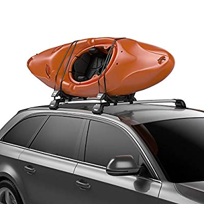 Thule Hull-a-Port XT Rooftop Kayak Carrier Black, One Size