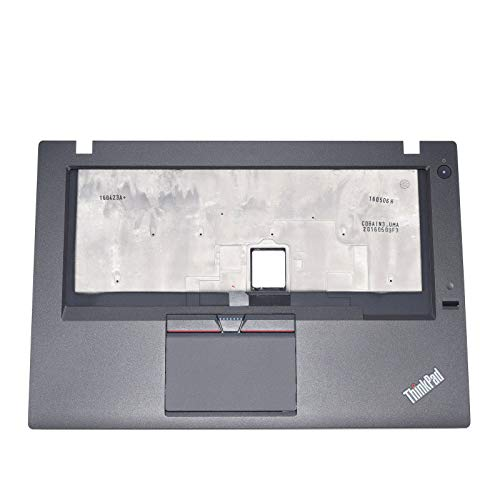 New Replacement for 01AW302 for Lenovo ThinkPad T460 Palmrest KB Bezel Touchpad w/FPR ASM