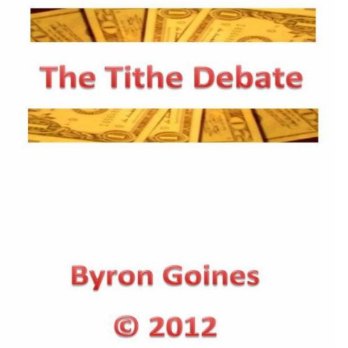 The Tithe Debate audiobook cover art