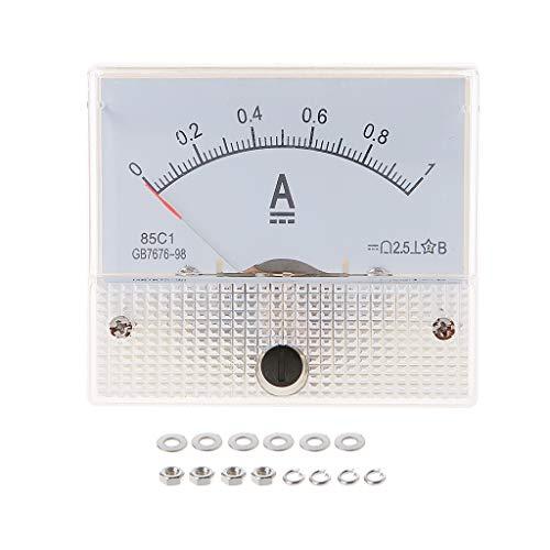 ZHOUMO 85C1 Amperemeter DC Analoger Strommesser Panel Mechanischer Zeiger Typ 1/2/3/30/50 / 100A 50/100/200/500mA (1A)