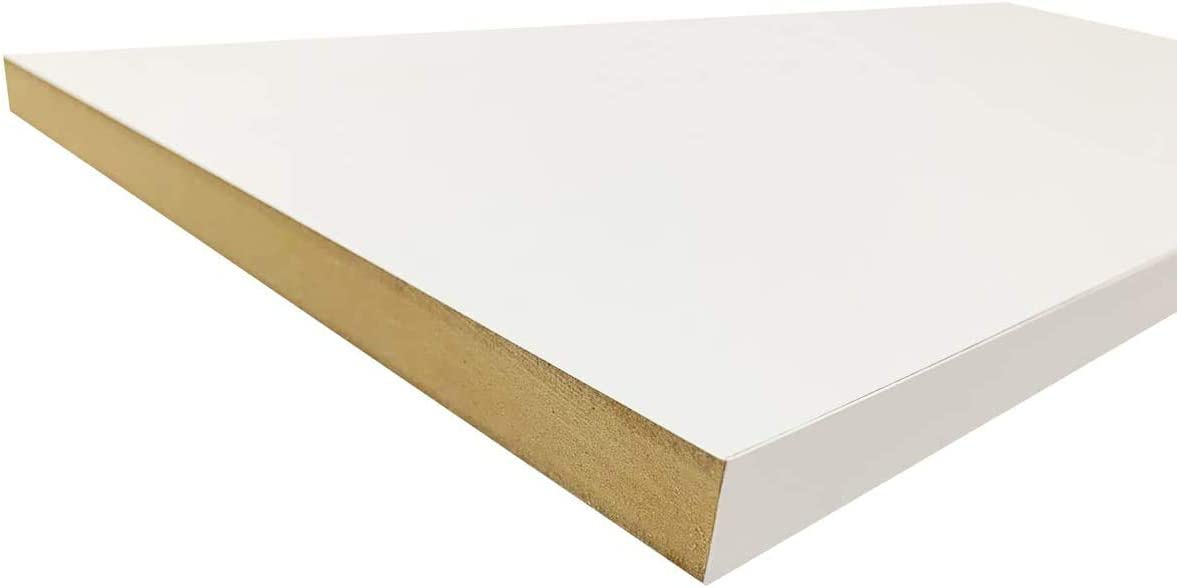 Max 46% OFF Limited price White Closet Shelves Melamine - Choose 1 Size 8 Your Accurate