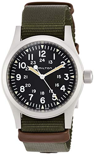 Reloj Hamilton Khaki Field Mechanical Acero Mate 38 mm H69439931
