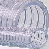 Saugschlauch Spiralschlauch Stahlspirale Abwasser verschiedene Ø Meterware (38mm)