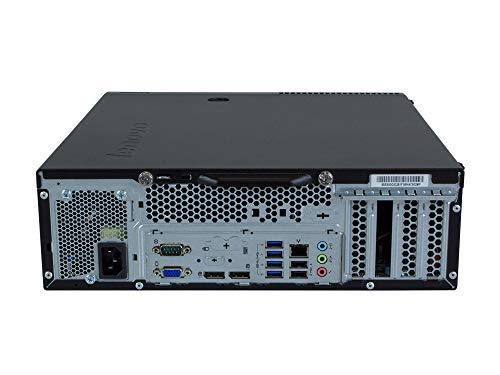 Lenovo ThinkCentre M93p SFF | PC | Computer | Intel Core i5-4570 3,2 GHz | 4GB DDR3 RAM | 500GB HDD | DVD-Brenner | Windows 10 Home (Generalüberholt)