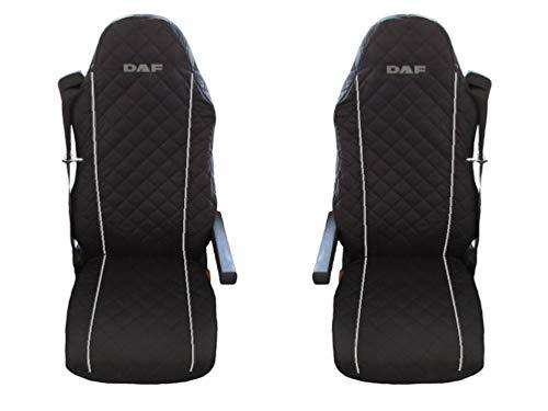 Unknow LKW DAF XF LF 105 EURO5 2 x LKW-Sitzbezüge Graue Beats /1 für den Fahrer und 1 für den Beifahrersitz/