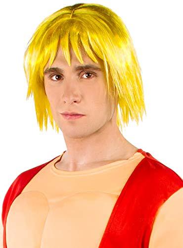Funidelia Peluca de Ken - Street Fighter