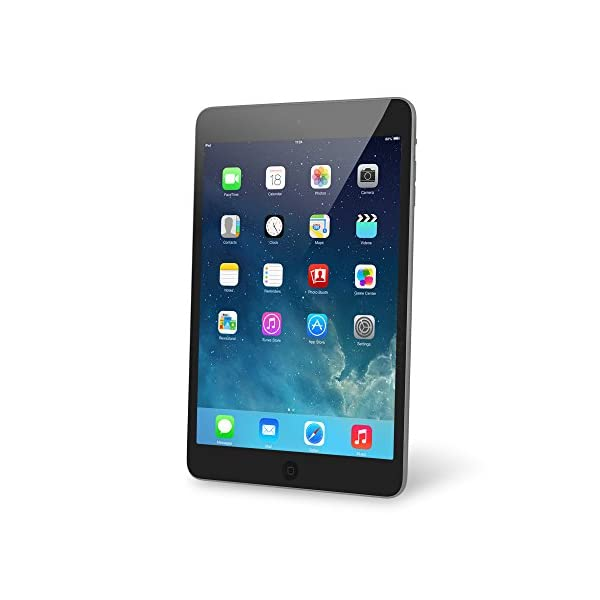 (Renewed) Apple iPad Mini 2 with Retina Display ME276LL/A (16GB, Wi-Fi, Black with...