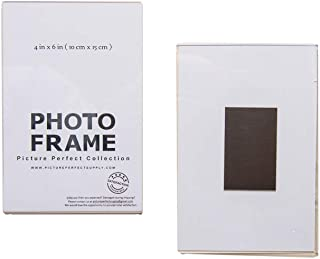 4x6 Clear Acrylic Picture Frame Magnet; Magnetic Acrylic Photo Frames (10)