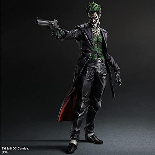 Htipdfg Action Figure 25cm The Joker in Batman: Arkham Knight Action Figure Model Toys Modello di Bambola (Color : No Retail Box)