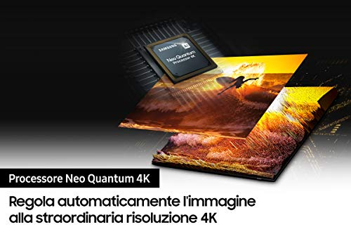 Samsung TV Neo QLED QE85QN90AATXZT, Smart TV 85