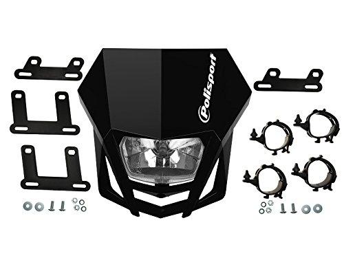 Scheinwerfer-Maske Polisport LMX Farbe schwarz, EAN: 5604415036712