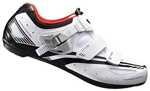 Shimano Rennradschuhe SH-R107W Schuhe men weiß (Größe: 44)