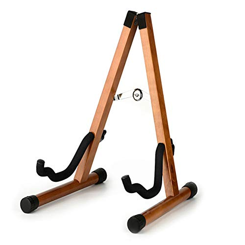 Koldot Wooden Guitar Stand for Acoustic Electric Bass Classical Guitar