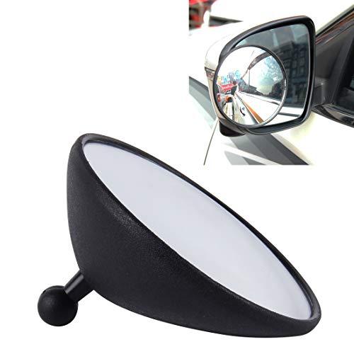 PengSF Exterior Accessoires 3R-098 auto-groothoekspiegel voor de achterhoek, diameter: 9,8 cm (zwart) auto-onderdelen zwart