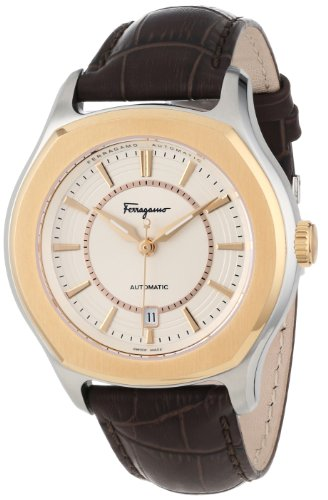 Salvatore Ferragamo Timepieces FQ1030013 - Reloj de Pulsera Hombre, Color Marrón