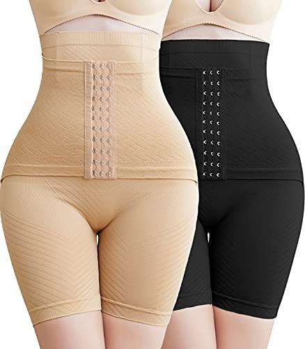 SEXYWG Modeladora Cintura Alta Bragas Reductoras Adelgazantes Abdomen Bragas Muslo Delgada Vientre Plano Braguitas Body Reductor Shapewear para Mujer