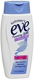 SUMMER'S EVE Foaming Bath-Berry Bliss-12 oz