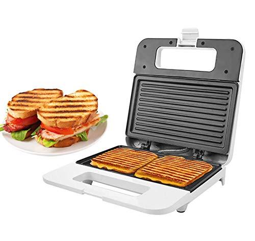 Sandwichera Eléctrico DIY Multifunción Gofrera Waffle Maker Grill Plancha Desmontable Sartén Antiadherente...