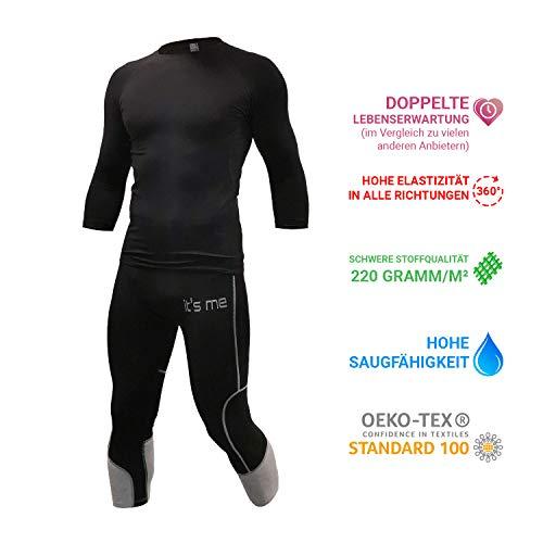 It's Me EMS-Kleidung | Set 1 | Kompatibel mit Allen EMS Anbietern | Unisex | OekoTex100 Siegel | Stoff 220gramm/m²=Lange Lebensdauer |