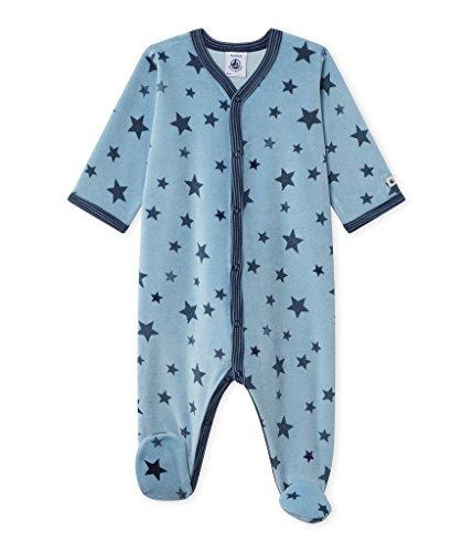 Petit Bateau Dors Bien Pelele para Dormir, Multicolor (Barque/Multico 36), 74 cm (12 Meses) para Bebés