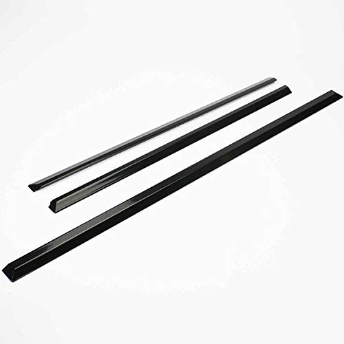 Replacement For Whirlpool W10675026 Slide-In Range Trim Kit, Black