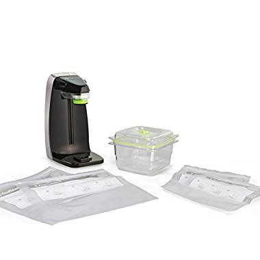 FoodSaver FM1230-000 Space-Saver Fresh Appliance System for Zipper Bags & Fresh Containers