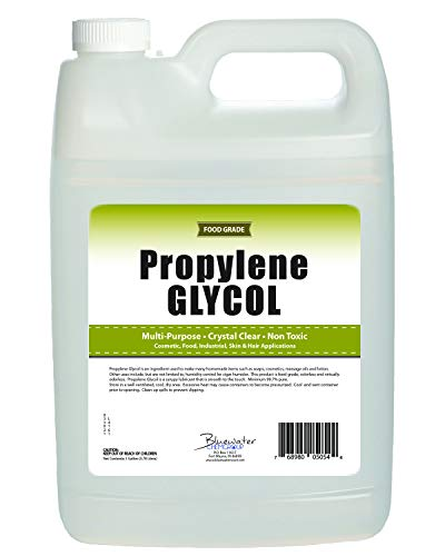 Propylene Glycol - 1 Gallon - USP Certified Food Grade - Highest Purity, Humectant, Fog Machine, Humidor & Antifreeze Solution, Contains Zero Alcohol