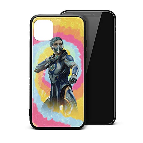 iPhone 11/iPhone Pro/iPhone Promax Case Scratch Ultra-Thin Mortal-Kombat-11-Frost-character- Classic Cute Skin Accessories