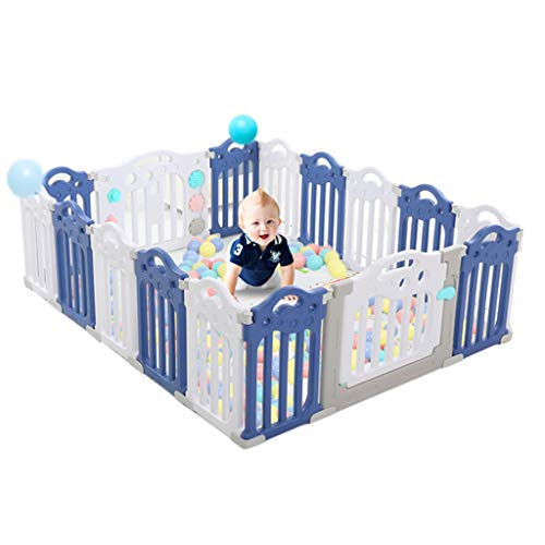 New Large Baby Plastic Big Playpen Colors Baby Playpen Foldable Portable Room Divider Barrier Expand...