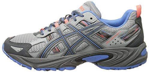 ASICS Women's Gel-Venture 5-W, Silver Grey/Carbon/Dutch Blue, 8.5 M US