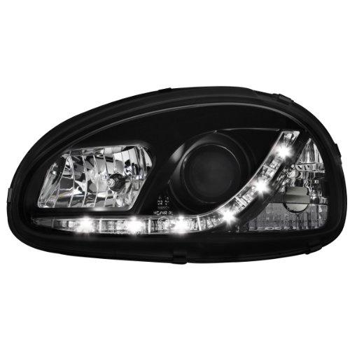 Dectane SWO02GXB DAYLINE Scheinwerfer Opel Corsa B 3/5T TFL Optik_black