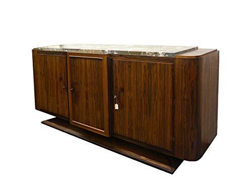 Antike Fundgrube Sideboard Anrichte Art Deco Schrank französisch um 1925 Palisander B 230 (4845)