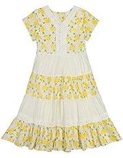 فستان مارا من ماسالا كيدز - ليمون بلوسوم يلو