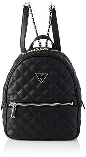 Guess Damen CESSILY Backpack Bags Crossbody, schwarz, Einheitsgröße