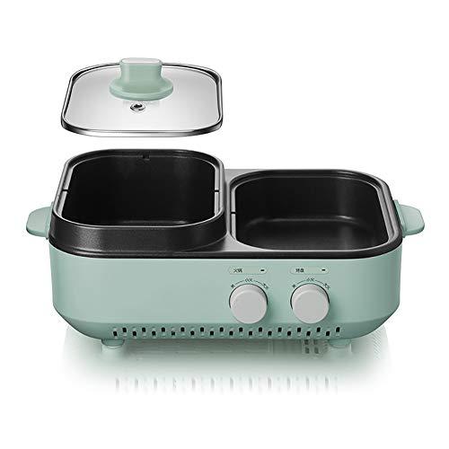 WYQ Elektro-Ofen Kochtopf Multi-Funktions-Haushalt Elektro Hot Pot Barbecue Elektroherd Elektro Bratpfanne