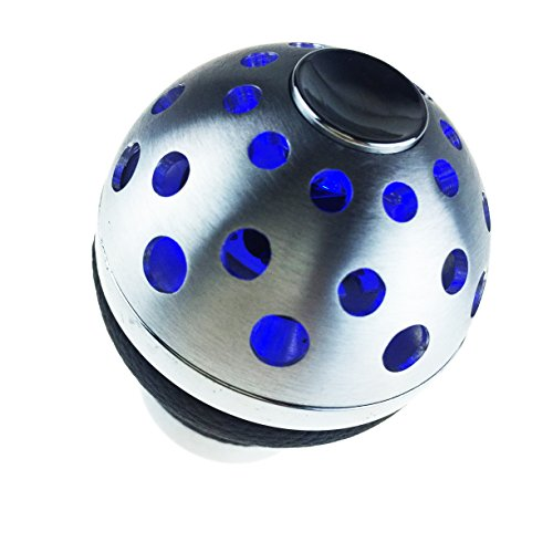 Gear Shift Knob,Fydun Car Universal Crystal Bubble Gear Stick Shift Head LED Light Transparent Lever Shifter Knob 20m