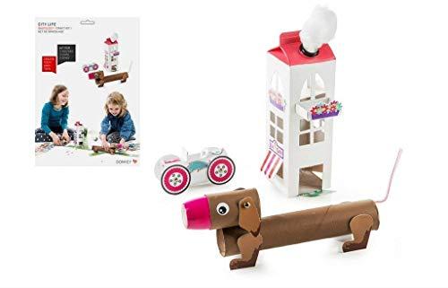 DONKEY Products Pack und Play Citylife, Bastelset, Basteln, Spielzeug, Haus, H&, 400154