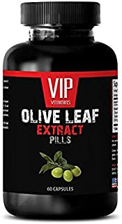 antioxidant Anti Aging - Olive Leaf Extract 500MG - Extract Olive Leaf - 1 Bottle (60 Capsules)