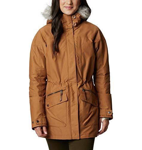 Columbia Carson Pass IC Jacket Chaqueta Interchange con Forro extraíble, Mujer, elk, S